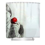 Steve Jobs Shower Curtain