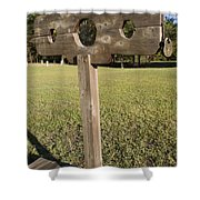 Stockade Ninety Six National Historic Site Shower Curtain
