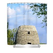 Stone Tower Shower Curtain