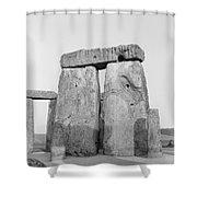 Stonehenge Shower Curtain by Anonymous