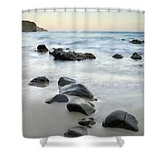Stones Shower Curtain