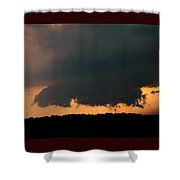 Stong Nebraska Supercells Shower Curtain