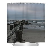 Storm Clouds Brewing Shower Curtain