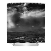 Storm Over The Kittitas Valley Shower Curtain