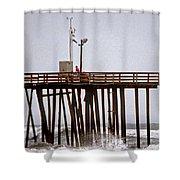 Storm Watch Shower Curtain