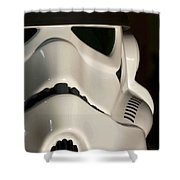 Stormtrooper Helmet Shower Curtain