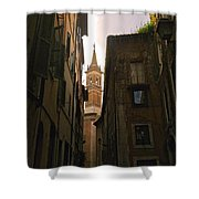 Street Of Rome Shower Curtain