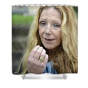 Street People - A Touch Of Humanity 1 Shower Curtain
