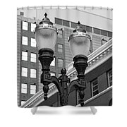 Streetlights - Lansing Michigan Shower Curtain