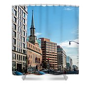 Streets Of Washington Dc Usa Shower Curtain