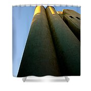 Strong And Tall Shower Curtain