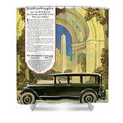 Studebaker Big Six - Vintage Car Poster Shower Curtain