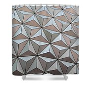 Sub Triangles Shower Curtain