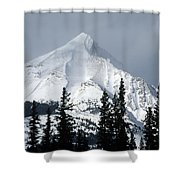 Sugar Icing Mountain Top Shower Curtain