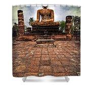Sukhothai Buddha Shower Curtain