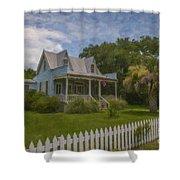 Sullivan's Island House Shower Curtain