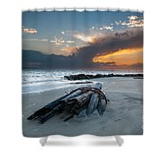 Sullivan's Island Sunset Shower Curtain