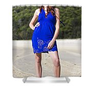Summer Fashion Style Shower Curtain