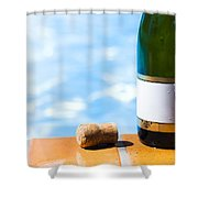 Summer Party Shower Curtain