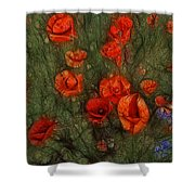 Summer Wind Shower Curtain