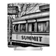 Summit Diner Shower Curtain