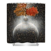 Sumteralling Shower Curtain