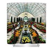 Sunken Garden Como Conservatory Shower Curtain