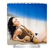 Sunlight Serenity Shower Curtain