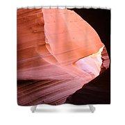Sunlit Canyon Shower Curtain
