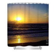 Sunrise - Florida - Beach Shower Curtain