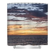 Sunrise Over The Sea Of Cortez Shower Curtain