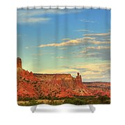 Sunset At Ghost Ranch Shower Curtain