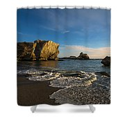 Sunset At Pismo Beach Shower Curtain
