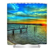 Sunset At The Cape Shower Curtain