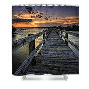 Sunset At Wildcat Cove Shower Curtain