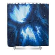 Supernova Explosion Shower Curtain