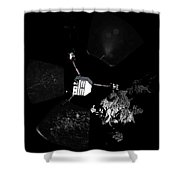 Surface Of Comet 67pc-g, Panoramic View Shower Curtain