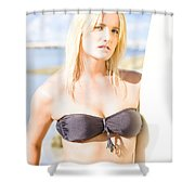 Surfing Leisure And Recreation Shower Curtain