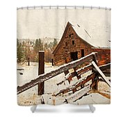 Surviving The Elements Shower Curtain