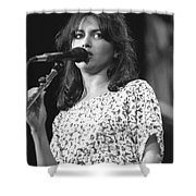 Susanna Hoffs Shower Curtain