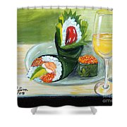 Sushi 5 Shower Curtain
