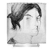 Suzanne Valadon (1865-1938) Shower Curtain
