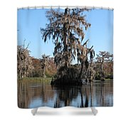 Walkula Springs Reflection Shower Curtain