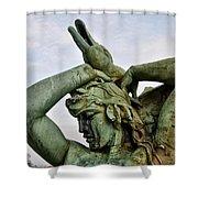 Swann Fountain Philadelphia Shower Curtain