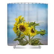 Swaying In The Breeze 2 Shower Curtain