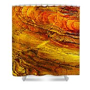 Sweet Potato Pie  Rock In Petra-jordan Shower Curtain