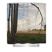 Sweet Water View Shower Curtain