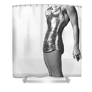Swimming Star Esther Williams Shower Curtain