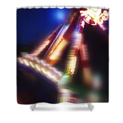 Swing Boat Shower Curtain
