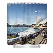 Sydney Harbour In Australia By Day Shower Curtain